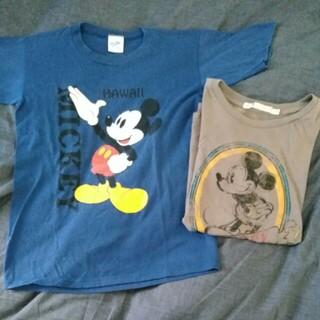 ディズニー(Disney)のミッキーマウス ティーシャツ セット(Tシャツ/カットソー)