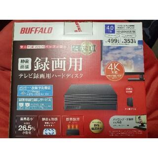 Buffalo - HD-LD4.0U3-BKA バッファロー USB3.1 HDD 4TB