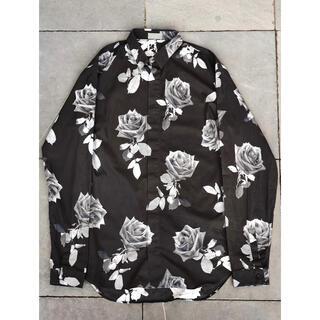 ディオールオム(DIOR HOMME)のDior homme 16aw 薔薇シャツ(シャツ)