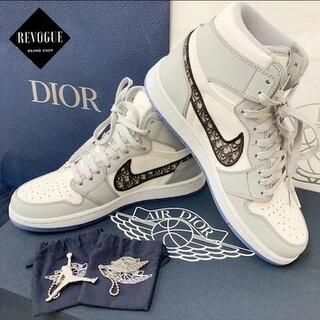 ディオール(Dior)の未使用新品 限定 ジョーダン1 AIR DIOR Christian Dior(スニーカー)