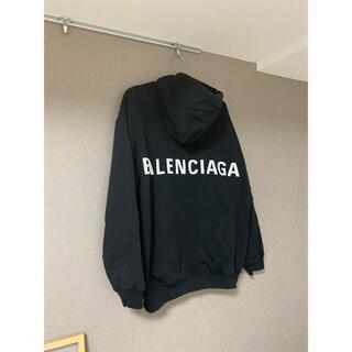 Balenciaga - BALENCIAGA パーカー バックロゴ