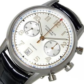 ティファニー(Tiffany & Co.)のティファニー TIFFANY&CO CT60 クロノグラフ 腕時計 メ【中古】(その他)