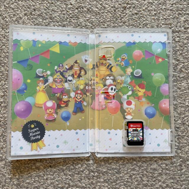 Nintendo Switch(ニンテンドースイッチ)のスーパー マリオパーティ Switch エンタメ/ホビーのゲームソフト/ゲーム機本体(家庭用ゲームソフト)の商品写真