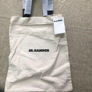 Jil Sander - JIL SANDER ジルサンダー ロゴ トートバッグ キャンバス