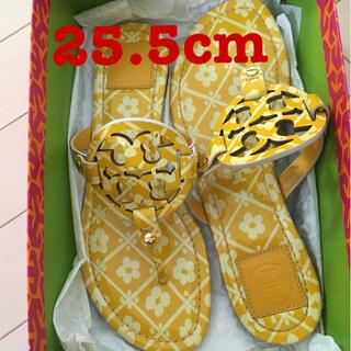 Tory Burch - トリーバーチ 25.5cm  (サイズ9) 黄色サンダル