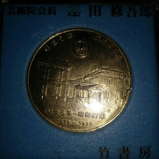 鉄道開通百年記念メダル(鉄道)