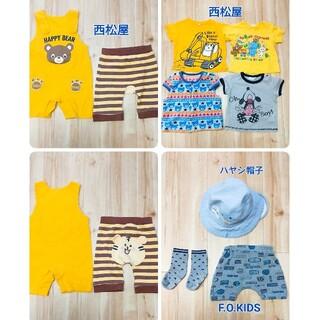 エフオーキッズ(F.O.KIDS)のF.O.kIDS エフオーキッズ 西松屋 半袖 Tシャツ トップス 半ズボン(Tシャツ)