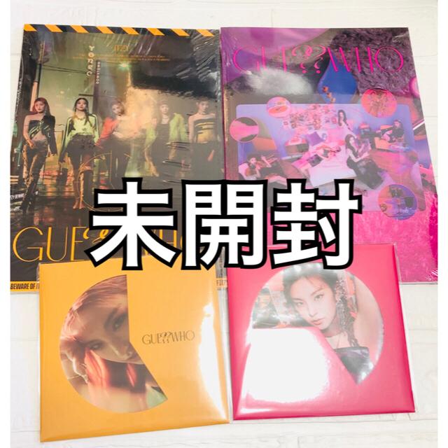 14 ITZY GUESS WHO 新品未開封アルバム2点セット初回特典付 エンタメ/ホビーのCD(K-POP/アジア)の商品写真