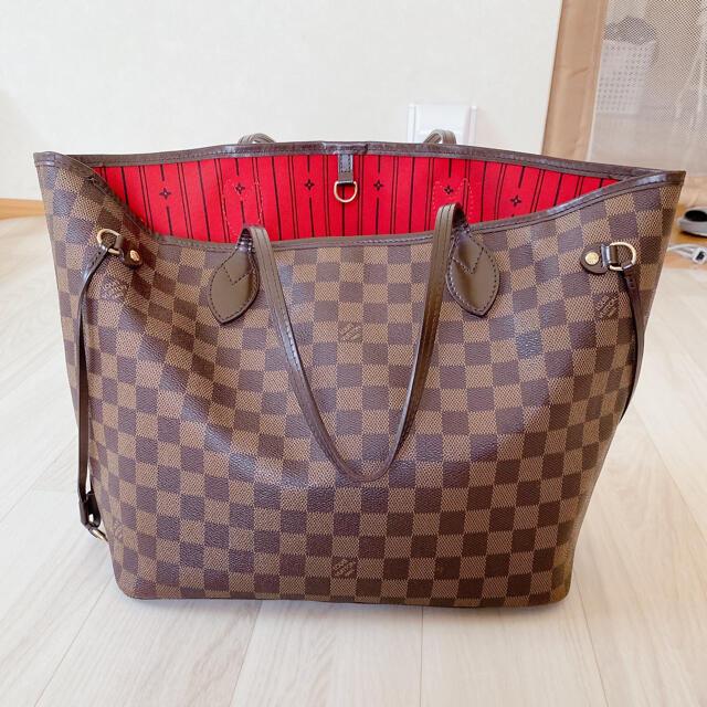 LOUIS VUITTON(ルイヴィトン)のルイヴィトンダミエ ネヴァーフルMM レディースのバッグ(トートバッグ)の商品写真