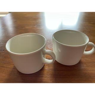 イッタラ(iittala)のiittala ティーマ マグカップ 白 2個セット(食器)