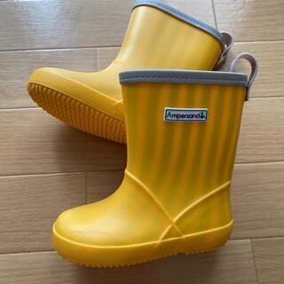 アンパサンド(ampersand)のレインブーツ 14cm 長靴 黄色 ampersand(長靴/レインシューズ)