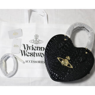 ヴィヴィアンウエストウッド(Vivienne Westwood)のヴィヴィアン ハートバッグ(ハンドバッグ)