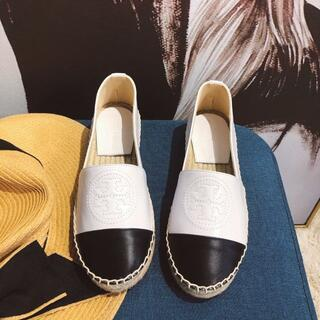 トリーバーチ(Tory Burch)のトリーバーチ お靴  ホワイト(ビーチサンダル)