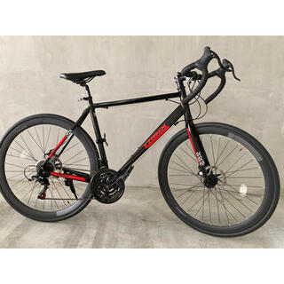 SHIMANO - 美品‼️ロードバイク シマノ TRINX 軽量 トリンクス 21段変速 自転車