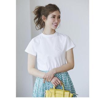 Chesty - seventen ロゴ刺繍Tシャツ(ホワイト)