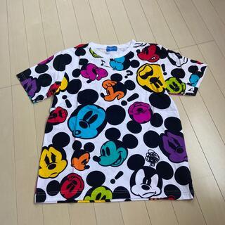 ディズニー(Disney)のディズニー 総柄 ミッキー Tシャツ(Tシャツ(半袖/袖なし))