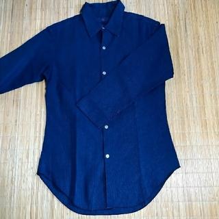 フォーティーファイブアールピーエム(45rpm)の【45rpm】藍染めチェックシャツ(シャツ/ブラウス(長袖/七分))