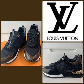 LOUIS VUITTON - 美品 ルイヴィトン ランアウェイ モノグラム スニーカー