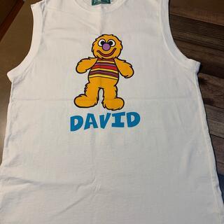 セサミストリート(SESAME STREET)のセサミストリート・DAVID&ELMOS・タンクTシャツ(Tシャツ/カットソー(半袖/袖なし))