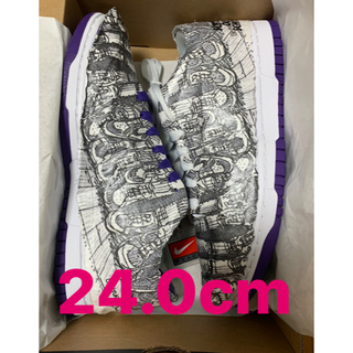 NIKE - Nike wmns dunk low made you look 24.0cm