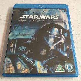 ディズニー(Disney)の『STAR WARS IV V VI』海外版 Blu-ray【新品未開封】(外国映画)