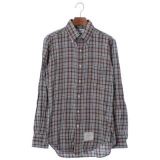 トムブラウン(THOM BROWNE)のTHOM BROWNE カジュアルシャツ メンズ(シャツ)
