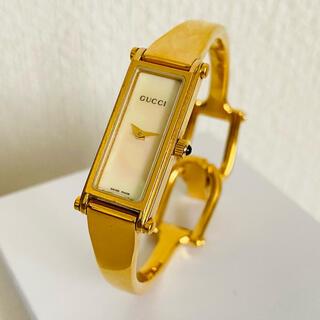 Gucci - GUCCI バングルウォッチ 腕時計