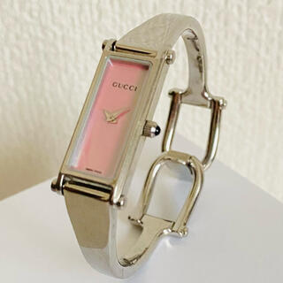 グッチ(Gucci)のGUCCI バングルウォッチ 腕時計(腕時計)