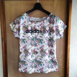 adidas - adidas neo  アディダス ネオ  リバティープリント 半袖tシャツ