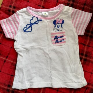 シマムラ(しまむら)のミニーマウス 半袖 Tシャツ 80(Tシャツ)