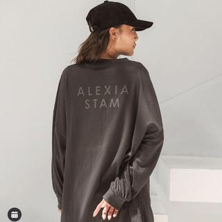 アリシアスタン(ALEXIA STAM)のアリシアスタン ロゴロングスリーブT (Tシャツ(長袖/七分))