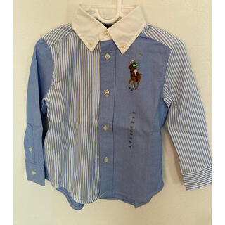 Ralph Lauren - 未使用 ラルフローレン 男の子90cm 長袖シャツ