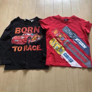 ディズニー(Disney)のディズニー Tシャツ カーズ 2枚(Tシャツ/カットソー)