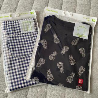 UNIQLO - 新品 ユニクロ Tシャツ レギンス セット