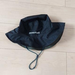 モンベル(mont bell)のどらえもん様専用★モンベル 撥水サファリハット ブラック レディースMサイズ(ハット)