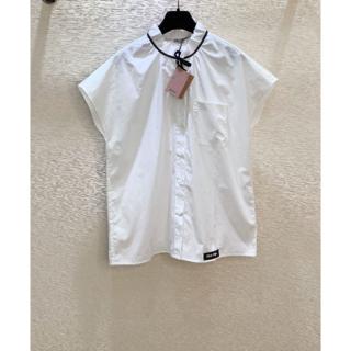 miumiu - MIU MIU スリーブレスシャツ