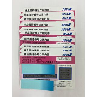 エーエヌエー(ゼンニッポンクウユ)(ANA(全日本空輸))のANA株主優待10枚セット(航空券)