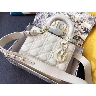 Dior - レディディオール カナージュ ミディアムバッグ