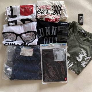 UNIQLO - 男の子 150cm 春夏服 まとめ売り 新品多数 Tシャツ 半ズボン ユニクロ
