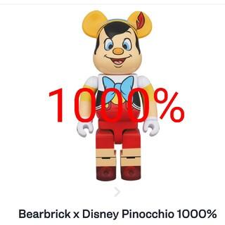 メディコムトイ(MEDICOM TOY)のBE@RBRICK PINOCCHIO 1000%(キャラクターグッズ)