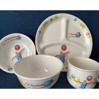 ディズニー(Disney)のディズニー ダンボ 子供用食器セット(プレート/茶碗)