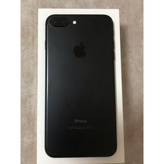 Apple - iPhone 7plus 256GB BLACK SIMフリー  本体のみ