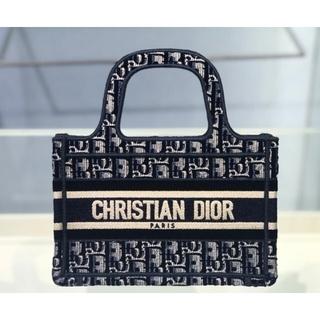 Dior - DIOR BOOK TOTE ブックトート オブリーク スモール バッグ