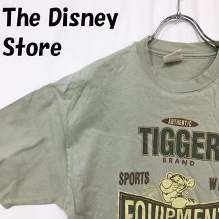 ディズニー(Disney)の【人気】ディズニーストア USA製 ティガー プリント 半袖Tシャツ サイズL(Tシャツ/カットソー(半袖/袖なし))