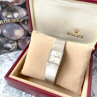 ROLEX - ロレックス Rolex プレシジョン k18 36Pダイヤモンド 腕時計