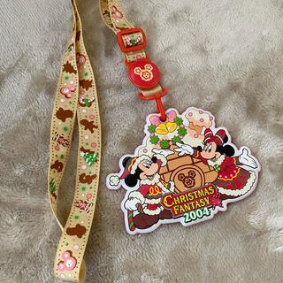 ディズニー(Disney)のクリスマスパスケース 2005(キャラクターグッズ)