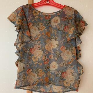 ムルーア(MURUA)のMURUA 花柄 トップス ブラウス(シャツ/ブラウス(半袖/袖なし))