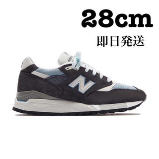 New Balance - KITH NEW BALANCE 998 STEEL BLUE 28cm