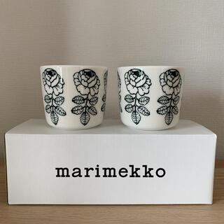 marimekko - マリメッコ ヴィヒキルース ラテマグ  マグカップ