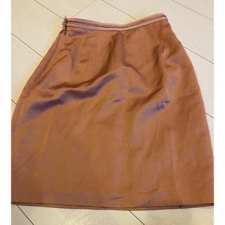 アナイ(ANAYI)のアナイ ピンクスカート(ひざ丈スカート)